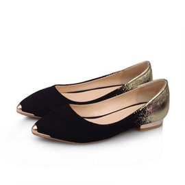 Ericdress Simple Point Toe Flats