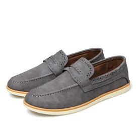 Ericdress New Solid Color Men's Brogues