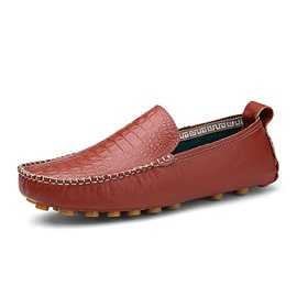 Ericdress Patent Leather Solid Color Moccasin-Gommino
