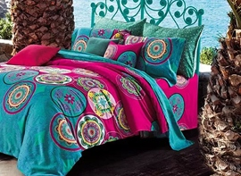 Ericdress Colorful Circle Decorated Cotton Bedding Sets