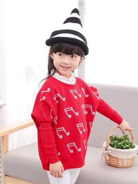Ericdress Batwing Sleeve Girls Sweater
