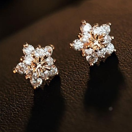 Ericdress Simple Star Allergy Free Stud Earrings