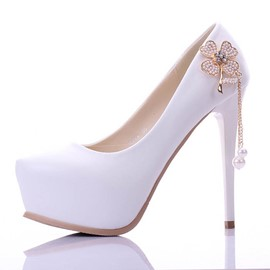 Ericdress Rhinestone Tassels Wedding Shoes