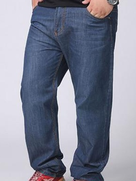 Ericdress Loose Plus Size Men's Jeans