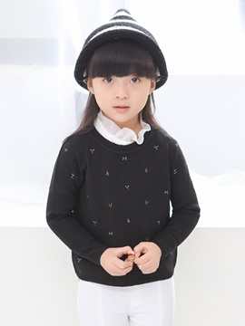Ericdress Long Sleeve Girls Sweater