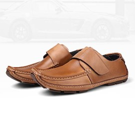 Ericdress Patent Leather Men's Moccasin-Gommino