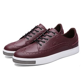 Ericdress Solid Color Breathable Men's Sneakers