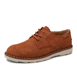 Ericdress Suede Solid Color Men's Casual Shoes