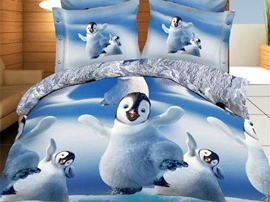 Ericdress Cute Penguin Print Bedding Sets