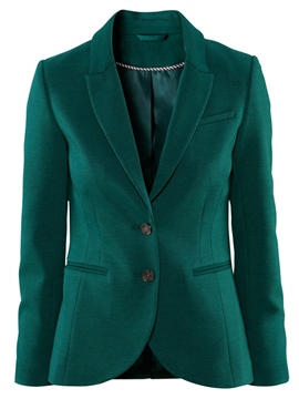 Ericdress British Style Two-Button Blazer