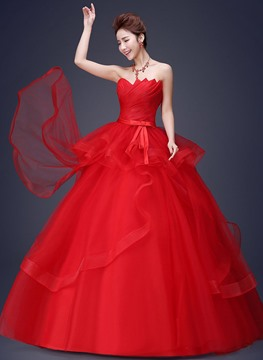 Ericdress Charming Ball Gown Wedding Dress