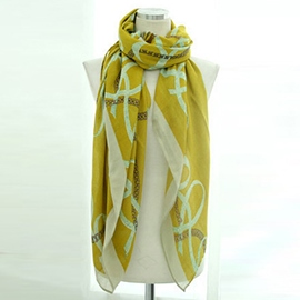 Ericdress Colorful Chain Print Scarf