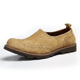 Ericdress Simple Suede Men's Brogues