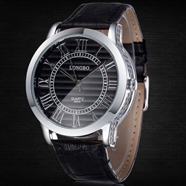 Ericdress Simple Roman Numerals Men's Watch