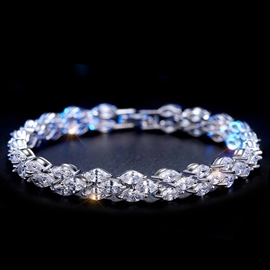 Ericdress Splendid Zircon Inlaid Bracelet