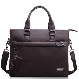 Ericdress Soft Belt Decorated Men's Briefcase