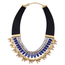 Ericdress Exaggerate Personality Multi-Layer Alloy Necklace