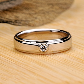 NSCD Diamond Male Ring