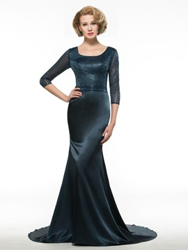 Ericdress Exquisite Sequins Mermaid Mother Of The Bride Dress