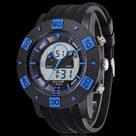 Ericdress Multifunction Big Dial Men's Digital Watch