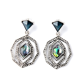 Ericdress Vintage Irregular Pattern Stud Earrings