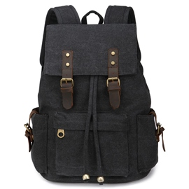 Ericdress Casual Men's Canvas Backpack