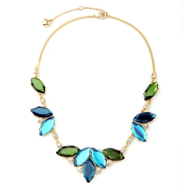 Ericdress Celebrity Leaf Pendant Necklace
