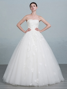 Ericdress Beautiful Ball Gown Lace Wedding Dress