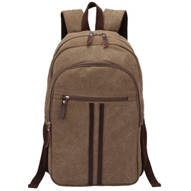Ericdress Unisex Canvas Backpack