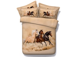 Ericdress Best Company Horses Print Bedding Sets