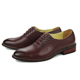 Ericdress Low-Cut Upper Square Heel Men's Oxfords