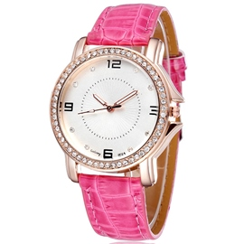 Ericdress Diamante Ladies Wrist Watch