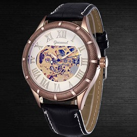 Ericdress Casual Hollow Semiautomatic Watch For Men