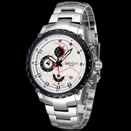 Ericdress Casual Round Dial Men's Watch with Calendar