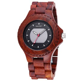 Ericdress Sports Wood Watch For Men
