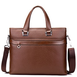 Ericdress Simple Thread Decorated Men's Handbag
