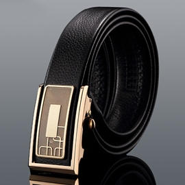 Ericdress Men's Automatic Alloy Buckle Belt