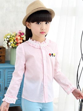 Ericdress Sweet Long Sleeve Girls Shirt