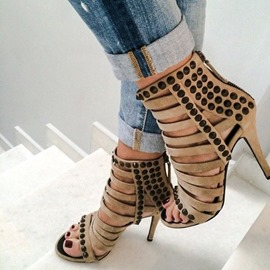 Ericdress Spleldid Hollow Out Stiletto Sandals