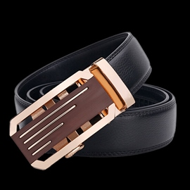 Ericdress Men's Stripe Alloy Buckle Automatic Belt