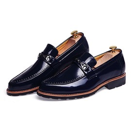 Ericdress Pu Slip on Men's Oxfords