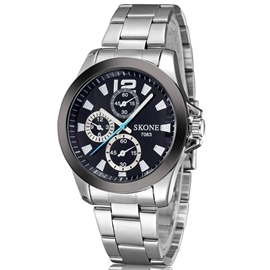 Ericdress Simple Sport Steel Belt Men's Watch