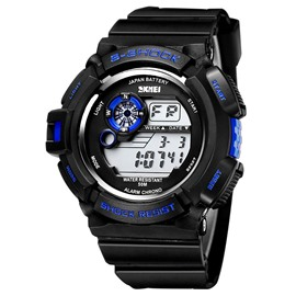 Ericdress Men's Silicone Sports Watch