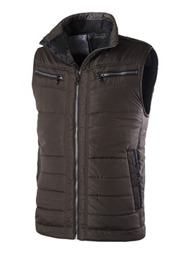 Ericdress Thicken Stand Collar Men's Vest