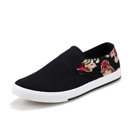 Ericdress Vintage Ethnic Men's Canvas Shoes