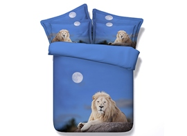 Ericdress Lonely Lion King Print 3D Bedding Sets