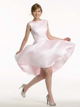Ericdress High Quality A Line Asymmetry Bridesmaid Dress