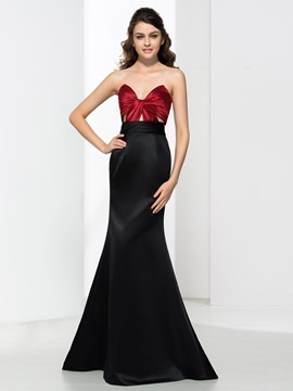 Ericdress Mermaid Sweetheart Pleats Hollow Evening Dress