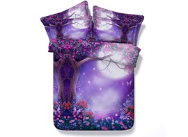 Ericdress Fantastic Secret Tree Print 3D Bedding Sets