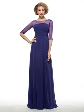 Ericdress High Quality Half Sleeves A Line Mother Of The Bride Dress